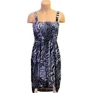 Guilty soft high summer midi dress Large